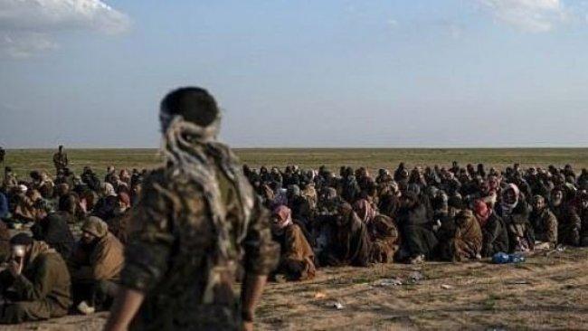 'Fırat'ın doğusunda 50 ülkeden tutuklu 6 bin IŞİD'li var'