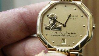 Saddam resimli saatten dolayı gözaltı