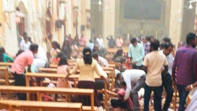 Sri Lanka'da patlama: Çok sayıda ölü ve yaralı var