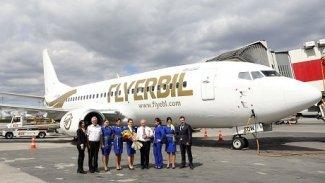 Fly Erbil'in Erbil-Ankara uçuş seferleri başladı