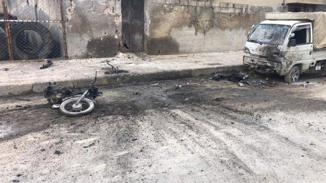 Menbic'te bombalı saldırı