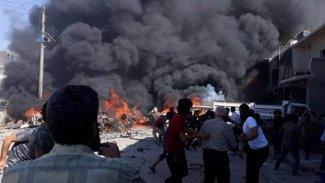 Azez'de patlama: 5 özel harekat polisi ile 2 ÖSO yaralandı