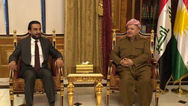 Başkan Barzani'den Halbusi'ye: Oluşan olumlu ortam bozulmamalı
