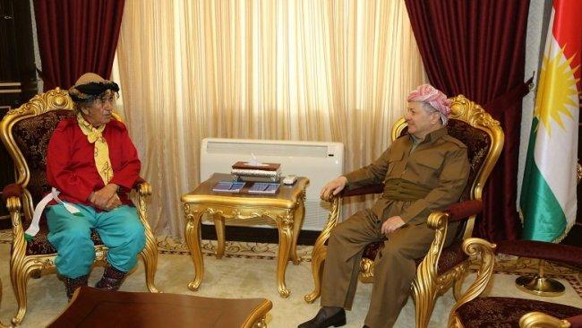 Başkan Barzani'den Kürt tarihçi Tewehudi'ye teşekkür