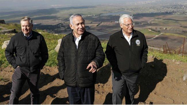 Netanyahu, Golan Tepeleri'nin ismini değiştirecek
