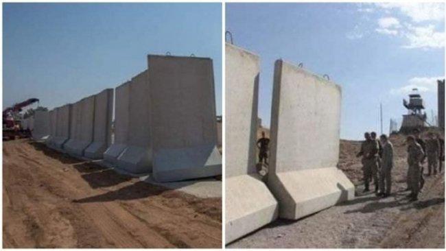 'Türkiye, Rojava ve Suriye sınırına duvar inşa ediyor'