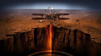NASA, Mars'ta ilk 'depremi' kaydetti