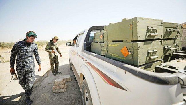 YPG'den Afrin'e silah sevkiyatı
