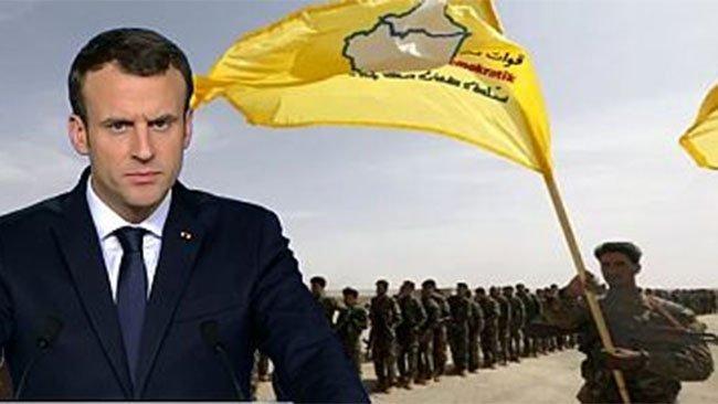 Macron, Rojava'da ağırlığını hissettirmeye başladı