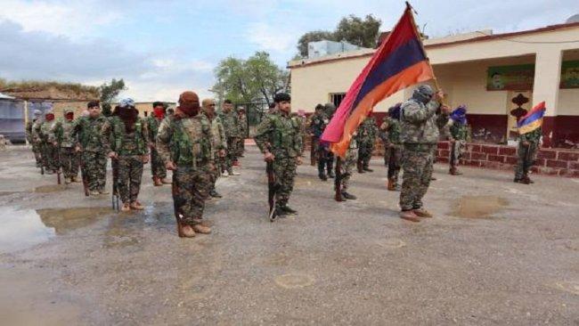 Rojava'da Ermeni taburu kuruldu