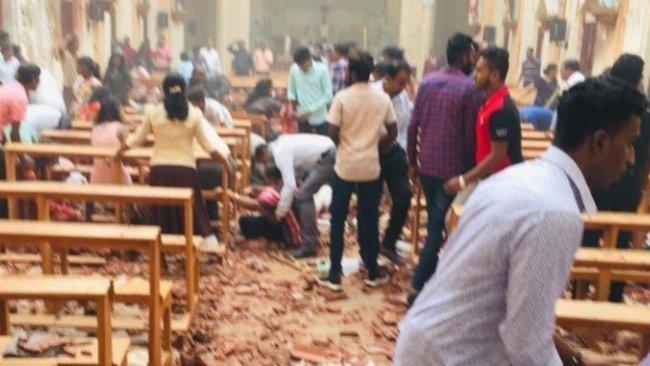 Sri Lanka'da patlama ve çatışma sesleri