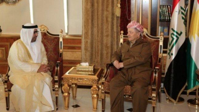 Başkan Barzani BAE Başkonsolosu'nu kabul etti