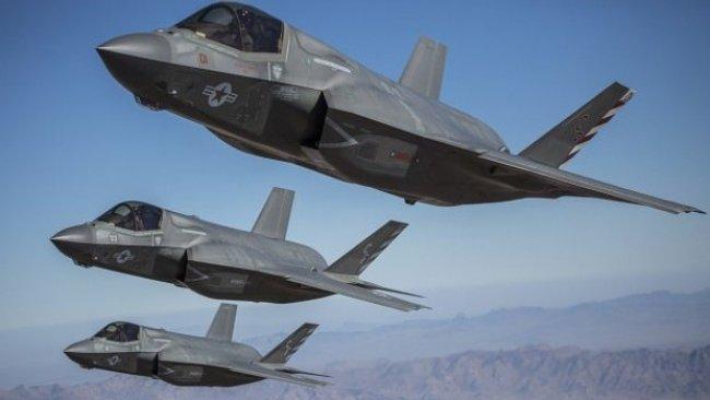 ABD F-35 savaş uçaklarını ilk kez Kerkük'te kullandı