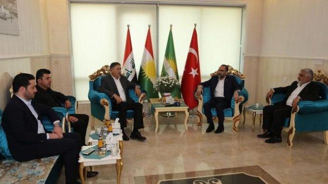 HÜDA PAR ilk temsilciliğini  Erbil'de açtı