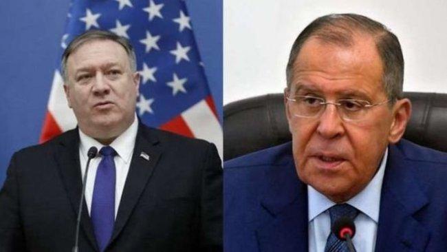Lavrov ve Pompeo görüştü: Karşılıklı 'Venezuela' uyarıları