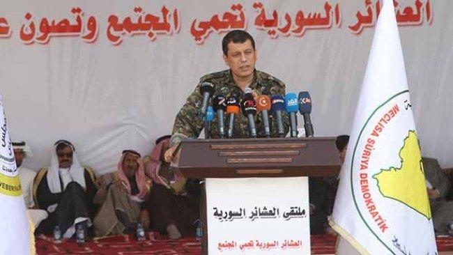 DSG Komutanı Mazlum Kobane: Türkiye ile dolaylı görüşmelerimiz var