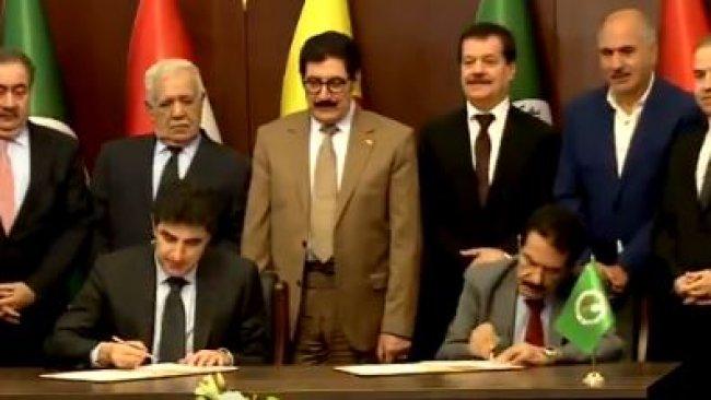 KDP ve YNK arasında anlaşma imzalandı