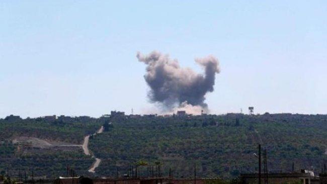 Suriye ordusu İdlib'de Türkiye'ye ait askeri üssü vurdu