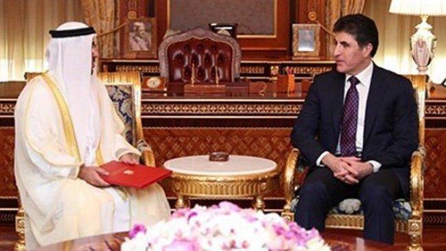 Başbakan Barzani, BAE Başkonsolosunu kabul etti
