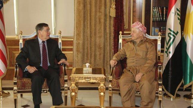 Başkan Barzani ABD'li üst düzey heyeti kabul etti