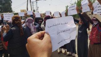 Deyrezzor'da Arapların 'YPG protestoları' artıyor: Ana gerekçe Esad'a petrol satışı