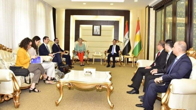 Fransa'dan Erbil'de koordinasyon merkezi açma kararı