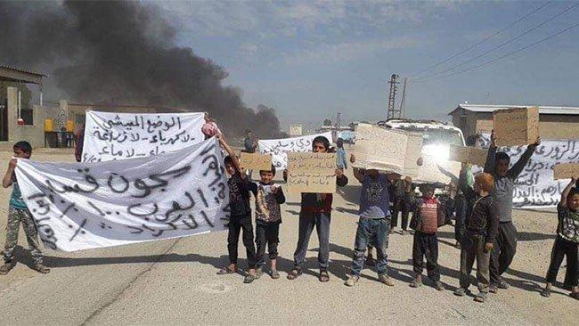 Washington Post: Suriye'de Kürt karşıtı protestolar ABD'nin planlarını tehlikeye atabilir
