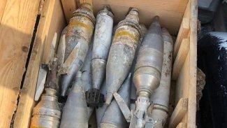 Kerkük'te IŞİD füzeleri ele geçirildi