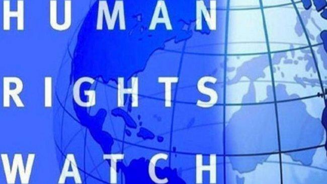 HRW'nin paylaşımındaki 'eğer' ifadesi Twitter'da alay konusu oldu