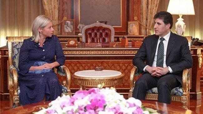 Başbakan Barzani, BM özel temsilcisi ile görüştü