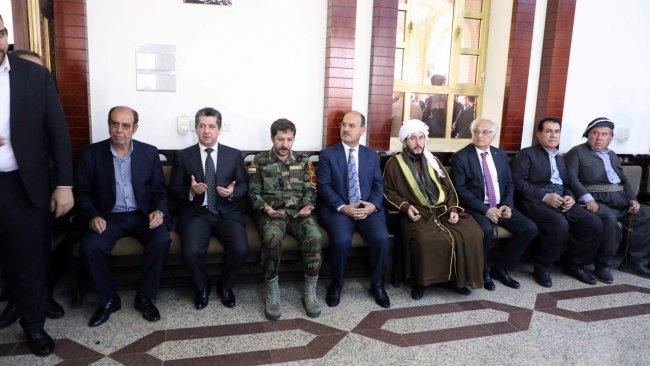 Mesrur Barzani'den şehit olan Peşmerge Komutanı'nın ailesine taziye ziyareti