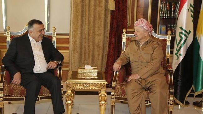 Başkan Barzani, Iraklı parti liderini kabul etti