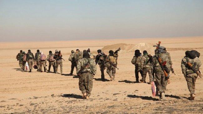 Deyrezzor'da 5 bin DSG'liden IŞİD operasyonu