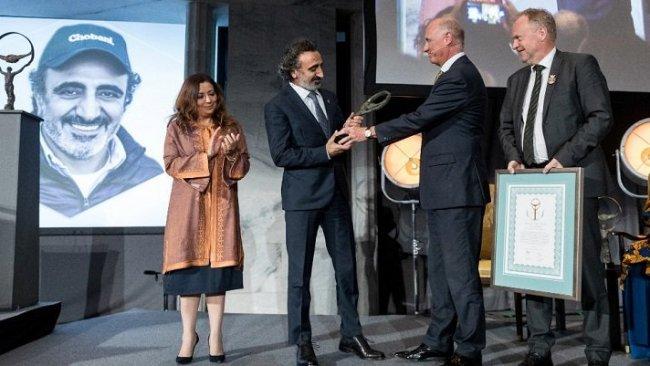 Kürt iş insanı Hamdi Ulukaya iş dünyasının Nobel Ödülü'nü aldı