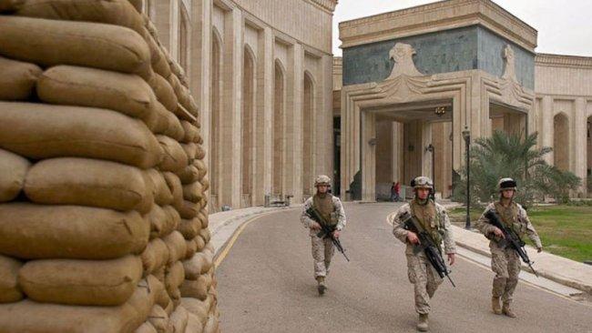 ABD'nin Bağdat Büyükelçiliği'nin yakınına füze atıldı