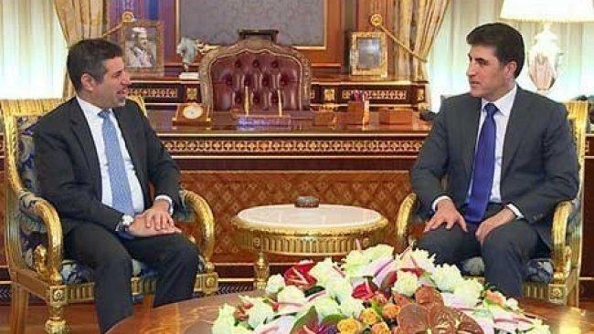 Başbakan Barzani, ABD'nin Erbil Başkonsolosunu kabul etti