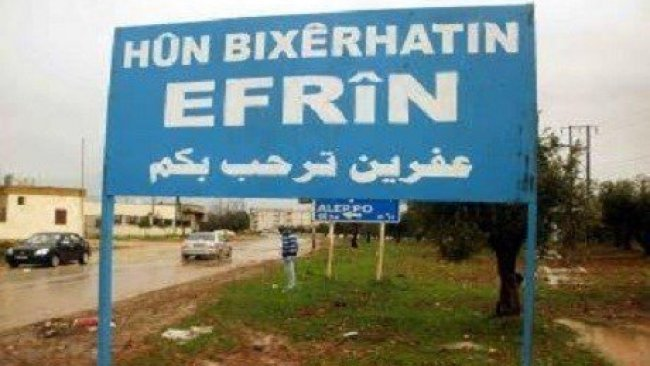 Efrin'de Çatışma