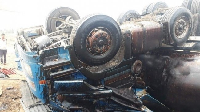 Haşdi Şabi milislerini taşıyan otobüs devrildi: 7 ölü, 27 yaralı