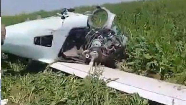 Musul'da araziye uçak düştü