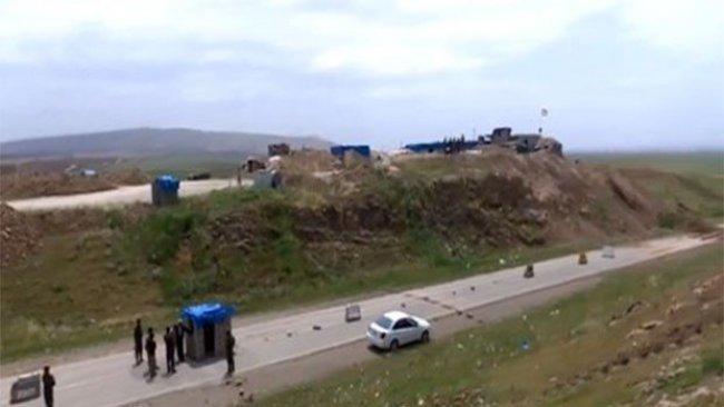 Şengal'de 16 Ekim'den beri kapalı olan Karayolu trafiğe açıldı