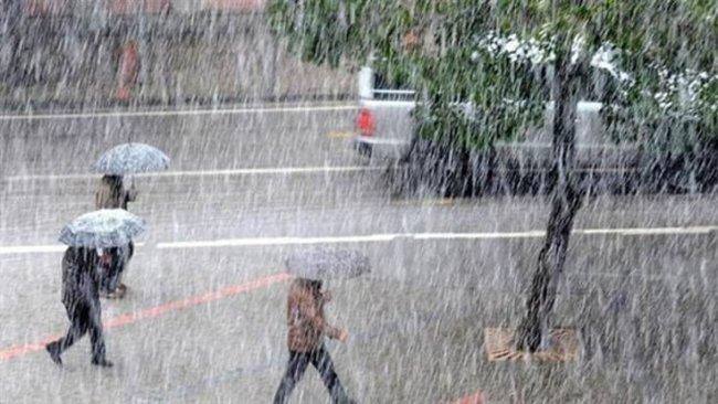 6 Kürt ili için yağış uyarısı