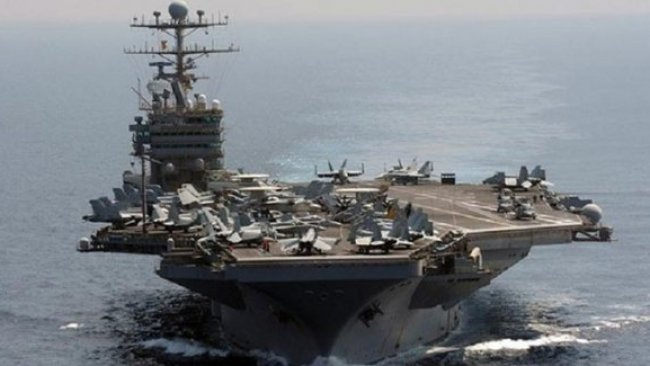 İran: Abraham Lincoln uçak gemisi uzaklaştı