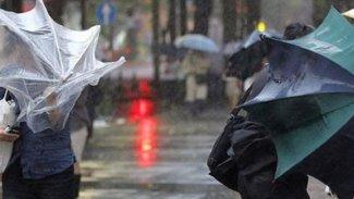 5 Kürt ili için kuvvetli fırtına uyarısı