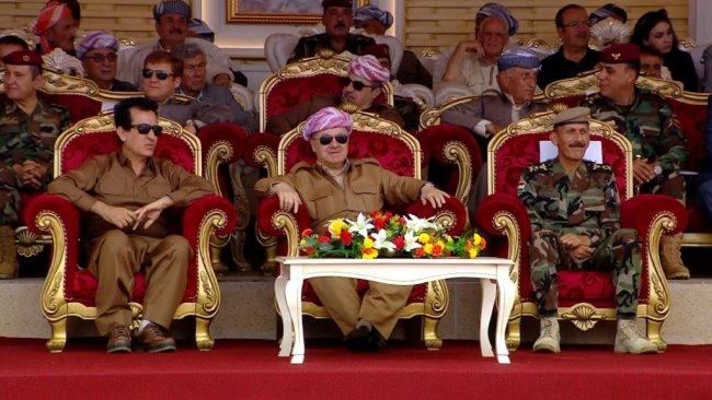 Başkan Mesud Barzani'nin katılımıyla Peşmergeler eğitim devresini tamamladı