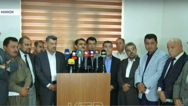 Kürdistan'daki siyasi partilerden Kerkük açıklaması