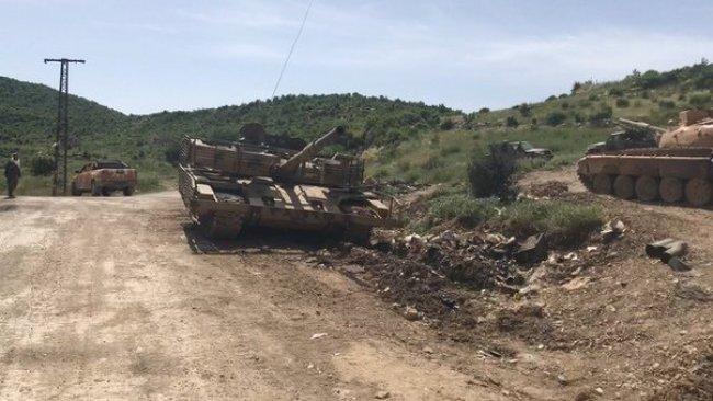 Rus ordusu İdlib'in güneyindeki operasyonlara katılıyor