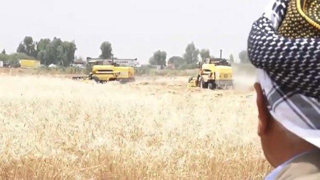Kerküklü çiftçiler endişe içerisinde