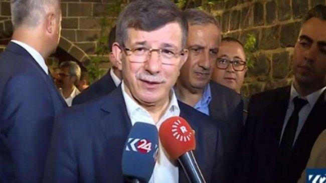 Davutoğlu: Esad'dan Kürtlerin haklarını talep ettim