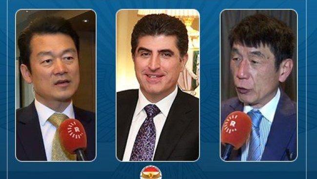 Japonya ve Güney Kore'den Başkan Neçirvan Barzani'ye kutlama