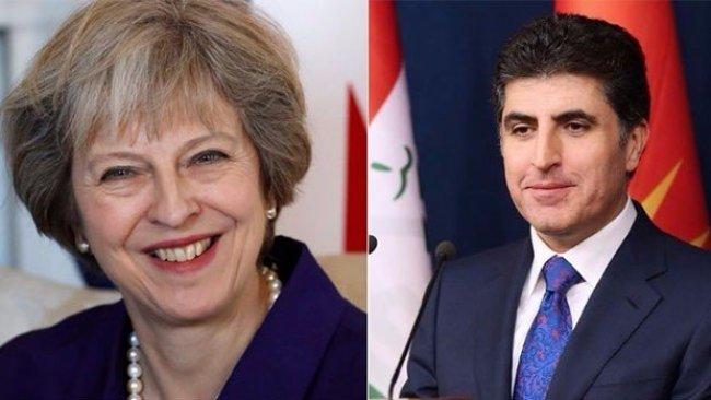 May: İngiltere, Kürdistan'la ilişkileri güçlendirmeyi dört gözle bekliyor